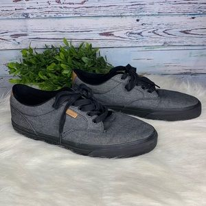 Vans Atwood Deluxe Ultra Crush Grey Shoes Sz 9.5